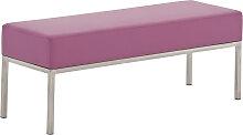 3er Sitzbank Lamega 120x40-lila