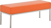 3er Sitzbank Lamega 120x40-orange