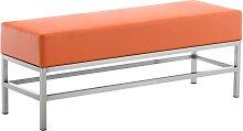 3er Sitzbank Tulip-orange