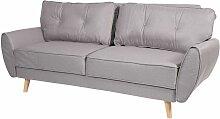 3er-Sofa 474, Couch Klappsofa Lounge-Sofa,