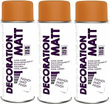 3er Sparpack DC Lackspray matt 400ml nach RAL
