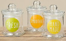 3er Universale Vorratsdose Fresh Vorratsglas (3270600 3er Glasdose)