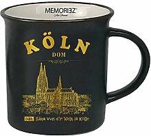 3forCologne Keramik Tasse, Kaffeetasse Teetasse,