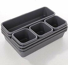 3Größe Schublade Organizer Box Trays Closet