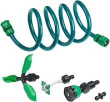 3in1-Gartendusche, Rasensprinkler & Wassernebler,