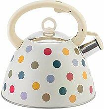 3L Whistling Kettle Teekanne aus Edelstahl mit