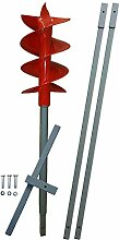 3m Erdbohrer mit 200mm Bohrkopf -VERLÄNGERBAR-