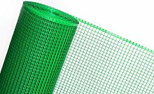 3m² MASCHENGEWEBE in 0,6m Breite x 5m Kunststoffzaun Baustellenzaun Geflügelzaun Hühnerzaun Gartenzaun Zaun Rankhilfe (grün)