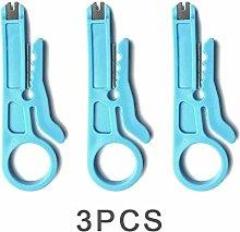 3pcs Mini Crimper Zange Tragbarer Abisolierzange