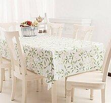 3pcs Tang Moine Feste Grüne Blätter Blätter Aerob Schöpfung Leben Zu Hause Heimtextilien Tischdecken Tischdecken Unterricht,137cm*137cm