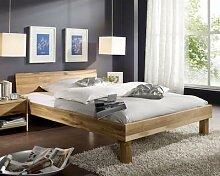 3S Frankenmöbel Massivholz Bett Campino 90x200 cm