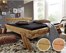 3S Frankenmöbel »Woodtime« Massivholzbett