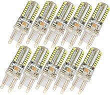 3W 10x G9 LED Leuchtmittel Lampe LED
