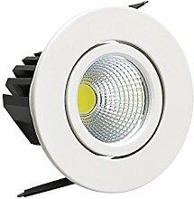 3w COB LED Spot Einbauleuchte Einbaustrahler