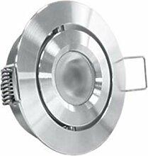 3W LED Einbaustrahler - SCHWENKBAR - IP44 Schutz,