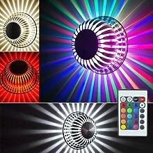 3W LED Wandleuchte Effektlampe Wandlicht Leuchte