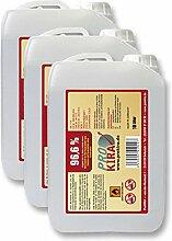 3x 10 Liter Brenngel 96% Ethanol für Gelkamine für Chafing Dish / Speisewärmer
