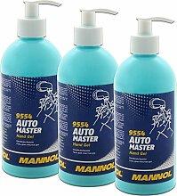 3x 500 ml Handwaschpaste Hand Gel Mannol 9554