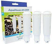 3x AH-CKR Kartuschen kompatibel für Krups F 088 01 Wasserfilter f. alle Orchestro-Modelle Espresso Kaffeemaschinen