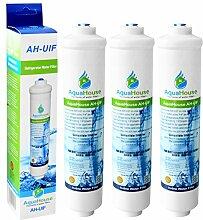 3x Aquahouse UIFS kompatibel Kühlschrank Wasserfilter für Samsung DA29-10105J HAFEX / EXP WSF-100 Aqua-Pure Plus (nur externer Filter)