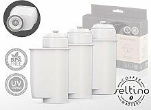 3x Filterpatrone Seltino PRIMO - Ersatzfilter für Brita Intenza 467873 TZ70003, für Espressovollautomaten Bosch, Neff, Siemens, Gaggenau...