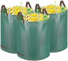 3X Gartenabfallsack 500L,Laubsack Gartensack mit