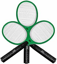 3x Globol Elektrische Fliegenklatsche - Einfach und sicher gegen fliegende Insekten