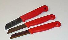 3X Küchenmesser Rostfrei, Vespermesser,