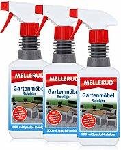 3x Mellerud Gartenmöbel Reiniger 500 ml - für