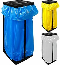 3x Müllsackständer für Müllsäcke bis max. 60 LITER 3-fach höhenverstellbar - Müllsackhalter Abfallbehälter Müllbeutelhalter