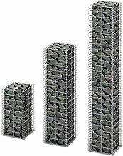 3X Steingabione/Steinkorb/Gabionen hochbeet, aus