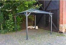 3x3 m Pavillon ROMANCE Hardtop Pergola Aluminium