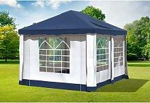 3x4 m Pavillon DELUXE Polyester-PVC 280 g/m² -