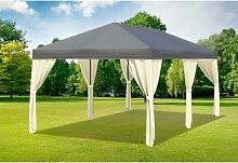 3x6 m Pavillon SAHARA Polyester-PVC 280 g/m² -