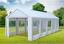 3x9 m Partyzelt Classic Premium PVC 400 g/m² -