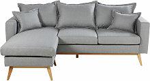 4/5-Sitzer-Ecksofa im skandinavischen Stil,