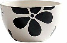 4,5-Zoll-Keramik-Schüssel Retro Ramen Haushalt