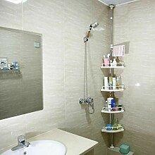 4 Ablagen Duschregal Eckregal für das Badezimmer,