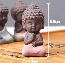 4 Arten 3D Buddha Silikonformen 3D Buddha