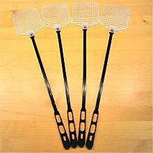 4-er Set Fliegenklatschen. Hochflexibel zum Insektenschutz Fliegenschutz Mückenschutz