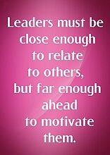 """4 Führer müssen eng genug sind, beziehen sich auf andere, aber weit genug im Vorfeld dazu zu motivieren, ihnen motivierendes Zitat """"Love Life"""", """"Best Color Belive Bestimmung für Bilderrahmen DIN A3, Poster-Prin"""