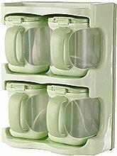 4 Grid Seasoning Box Gewürzbehälter Kitchen