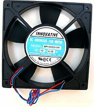 4 Lüfter Ventilator - 4 Stück INNOVATIVE 12 Volt DC / 0.38 A -120x120x22 mm