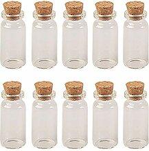 4ml auf 20ml Tiny Glas Flaschen mit Kork Glas