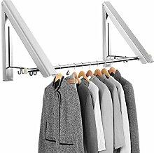 4 Ocean Kleiderhaken Klappbar Wand Kleiderständer