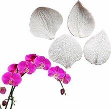 4Petals Phalaenopsis Silikon Form, handgefertigt