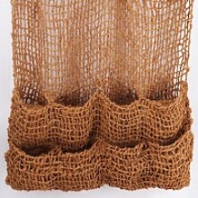 4 Pflanztaschen Kokosgewebe 8 Taschen Ufermatte