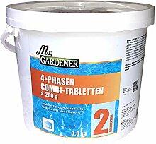 4 Phasen Combi-Tabletten 3 kg zur Wasserpflege