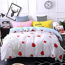 4 piece blumen comforter set king queen hoch klasse luxuriös flower drucken garten stil modern bettwäsche schwarz weiß multi color -H Queen2