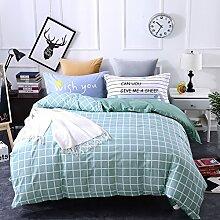 4 piece blumen comforter set king queen hoch klasse luxuriös flower drucken garten stil modern bettwäsche schwarz weiß multi color -C Queen2